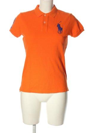 Ralph Lauren Polo-Shirt hellorange Casual-Look