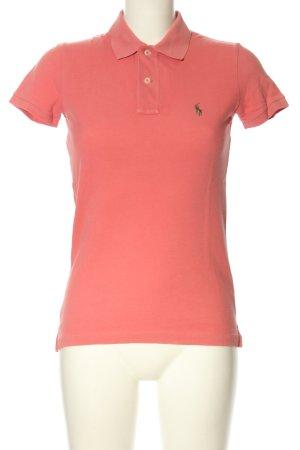Ralph Lauren Polo arancione chiaro stile casual