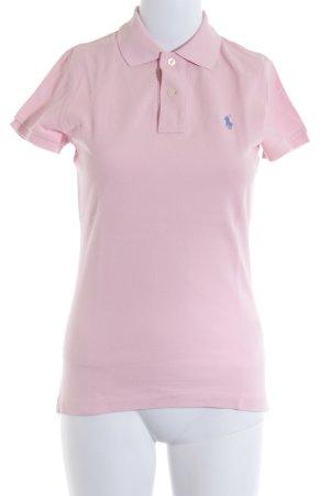 Ralph Lauren Polo-Shirt hellrosa klassischer Stil