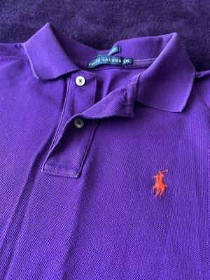 Ralph Lauren Polo-Shirt in lila Größe L