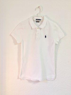 Ralph Lauren Camiseta tipo polo blanco-azul oscuro