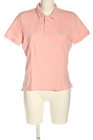 Ralph Lauren Polo rose clair coton