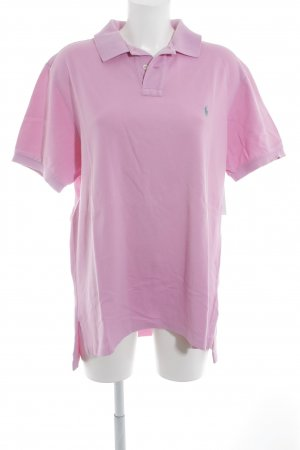 Ralph Lauren Polo-Shirt rosa Business-Look
