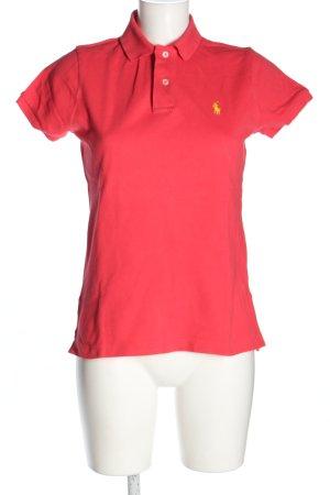 Ralph Lauren Polo rosso stile casual