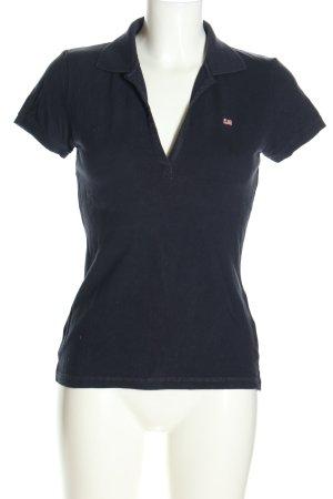 Ralph Lauren Polo Shirt blue casual look