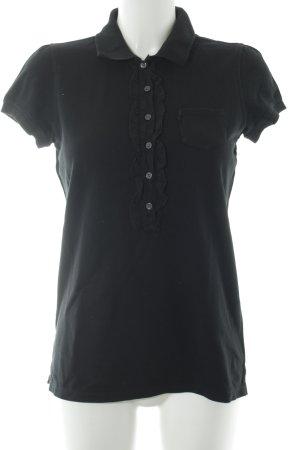 Ralph Lauren Polo-Shirt schwarz klassischer Stil