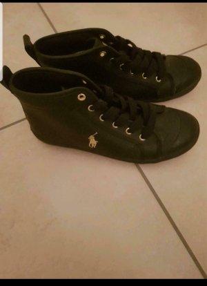 Ralph Lauren Sneakers met veters zwart