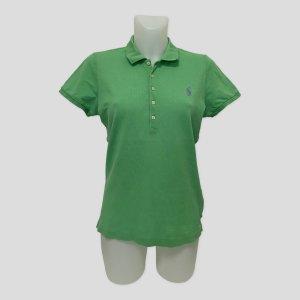 Lauren by Ralph Lauren Koszulka polo zielony Bawełna
