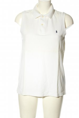 Ralph Lauren Polo Top white simple style