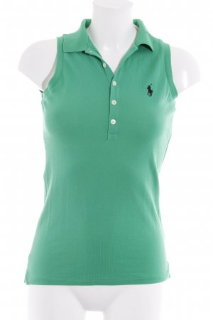Ralph Lauren Top Polo verde stile atletico