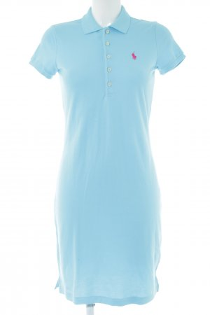 Ralph Lauren Polo Dress turquoise-blue casual look