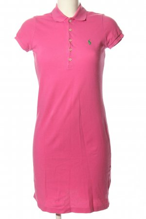 Ralph Lauren Polo Dress pink casual look