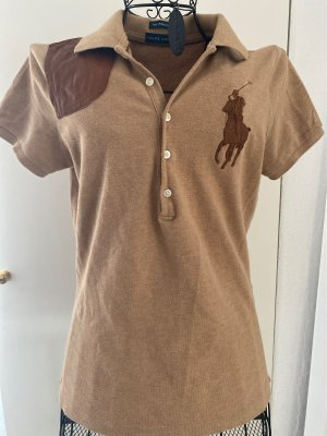 Ralph Lauren Polo marron clair