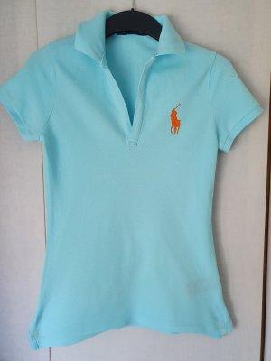 Ralph Lauren Sport Koszulka polo jasnoniebieski-baby blue Bawełna