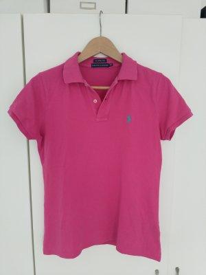 Polo Ralph Lauren Polo rose-rose fluo coton