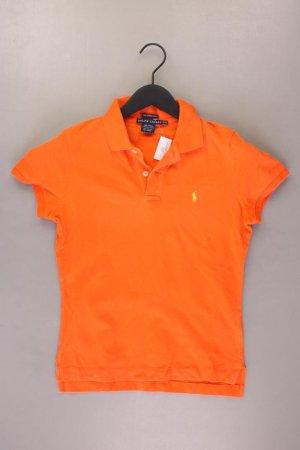 Ralph Lauren Poloshirt Größe M Kurzarm orange aus Baumwolle