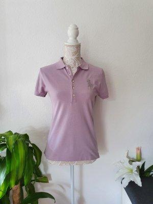 Ralph Lauren Poloshirt mit Swarovski Steinchen in Gr. M