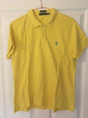 Ralph Lauren Polo giallo pallido-azzurro Cotone