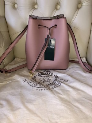 Ralph Lauren Premium Tasche NP: 319,99€ Luxus Neu mit Etikett rosé gold *hochwertig* edel