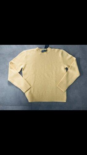 Ralph Lauren Pull en cashemire jaune clair cachemire