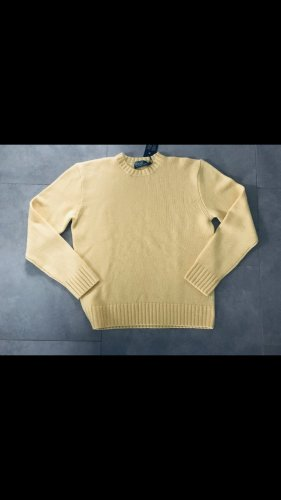 Ralph Lauren Cashmere Jumper pale yellow cashmere