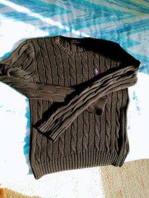 Ralph Lauren Sweaterjurk zwart-lila
