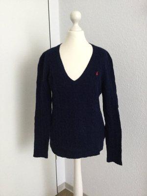 Ralph Lauren Jersey de lana azul oscuro