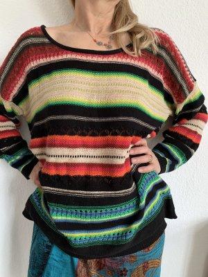 Ralph Lauren Pullover Bunt Leinen und Baumwolle