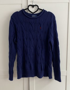 Polo Ralph Lauren Cable Sweater dark blue