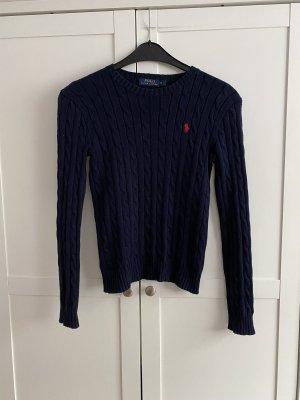 Polo Ralph Lauren Jersey trenzado azul oscuro