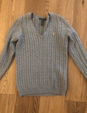 Lauren by Ralph Lauren Warkoczowy sweter Wielokolorowy