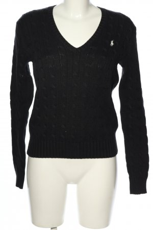 Ralph Lauren Pullover schwarz Casual-Look