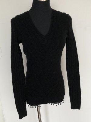 Ralph Lauren Maglione di lana nero
