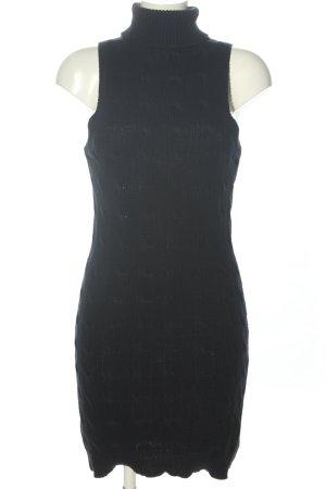 Ralph Lauren Pulloverkleid schwarz meliert Casual-Look