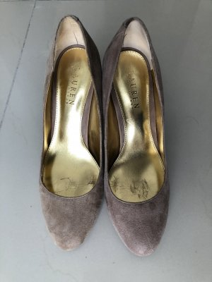 Ralph Lauren Pumps beige Gr. 39