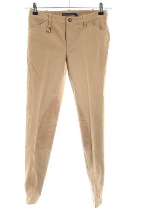 Ralph Lauren Pantalone da equitazione bianco sporco stile professionale