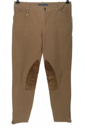 Ralph Lauren Riding Trousers brown casual look