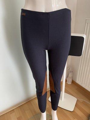 Ralph Lauren Pantalón para montar azul oscuro-color bronce