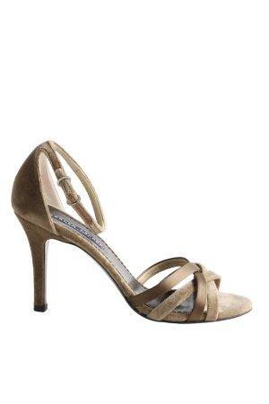 Ralph Lauren Riemchen-Sandaletten braun Casual-Look