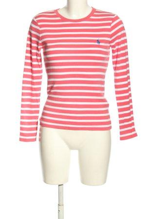 Ralph Lauren Koszulka w paski czerwony-biały Wzór w paski W stylu casual