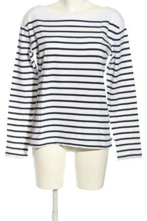Ralph Lauren Ringelshirt weiß-schwarz Streifenmuster Casual-Look