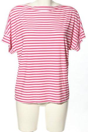 Ralph Lauren Stripe Shirt pink-white striped pattern casual look