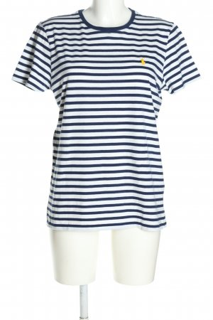 Ralph Lauren Stripe Shirt white-blue striped pattern casual look