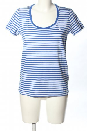 Ralph Lauren Ringelshirt weiß-blau Streifenmuster Casual-Look