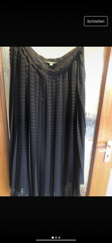 Ralph Lauren Plisowana spódnica ciemnoniebieski