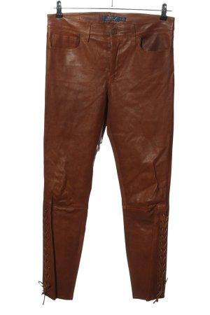 Ralph Lauren Drainpipe Trousers brown casual look