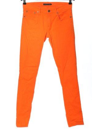 Ralph Lauren Jeans cigarette orange clair style décontracté