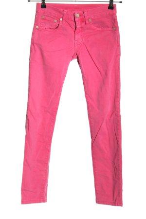 Ralph Lauren Röhrenjeans pink Casual-Look