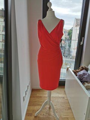 Ralph Lauren Rot elegantes Kleid Gr. 38 Neupreis 150 €