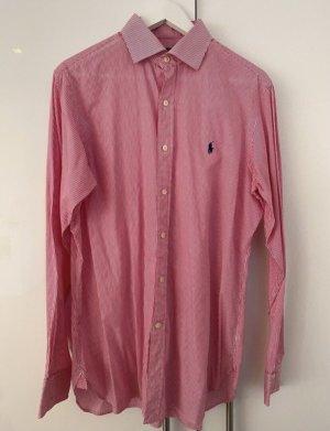 Polo Ralph Lauren Camicia a maniche lunghe rosso-bianco